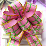 Wholesale Golden Xmas Gift Packing 9 Color 10cm Dia Party Wedding Decorative Holiday Large Size Pull