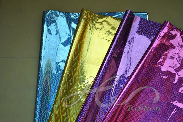 Gift paperflower wrapping papers for your christmas gift metallic gift wrapping paper permalink gallery negle Choice Image