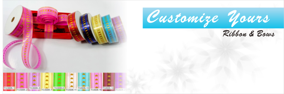 Customize Your Ribbon and Bows Today